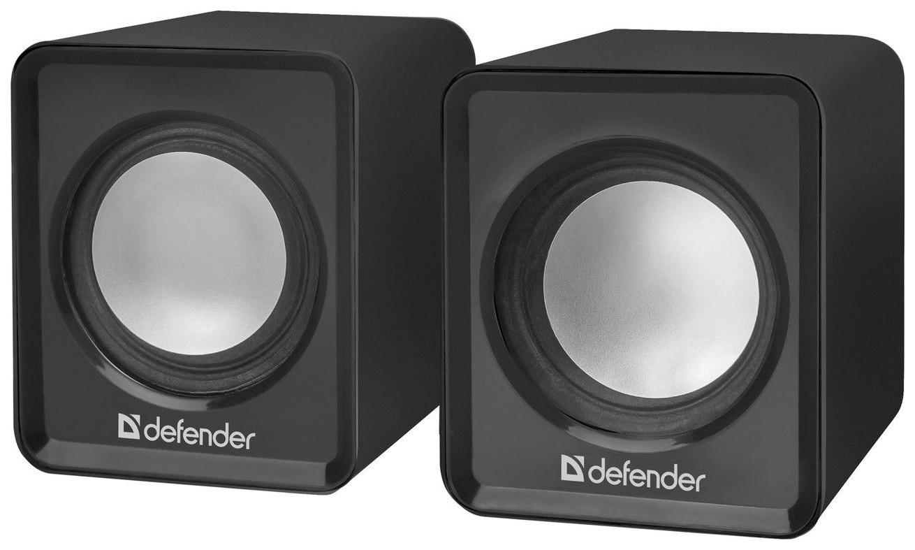 Колонки для компьютера DEFENDER SPK 22 Чёрный 5 Вт питание от USB
