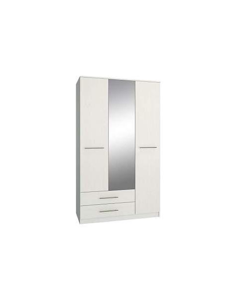Платяной шкаф MFMaster МСТ-ШРЛ-53-##-16 122,2х55х200, белый
