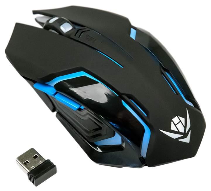 Беспроводная мышка Nakatomi MROG-20UR Black
