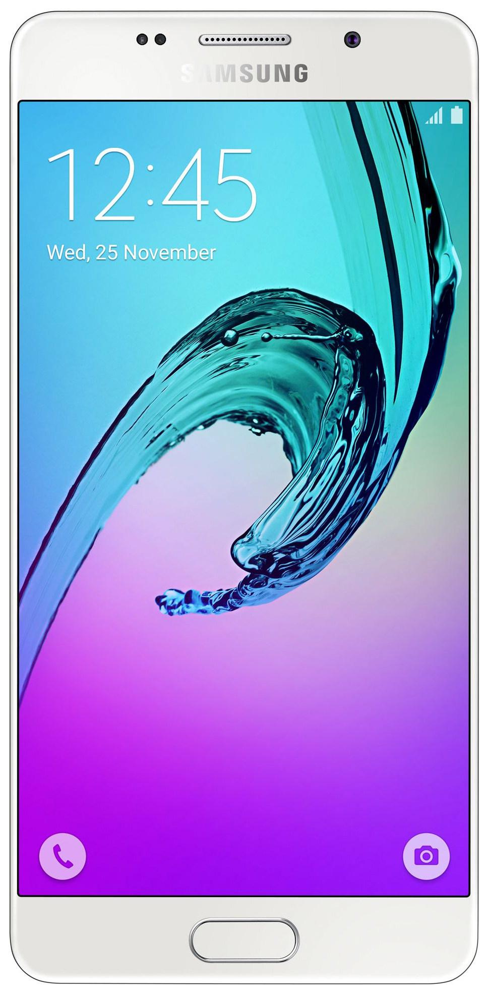 Смартфон Samsung Galaxy A5 (2016) 16Gb White (SM-A510F)