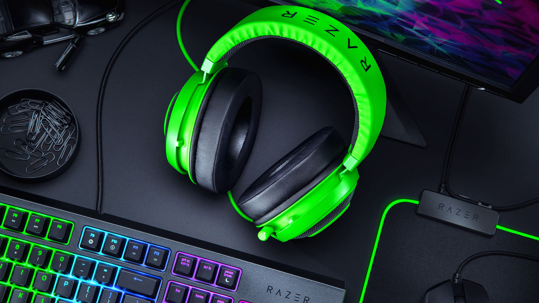 Игровые наушники Razer Kraken Multi-Platform Green (RZ04-02830200-R3M1)