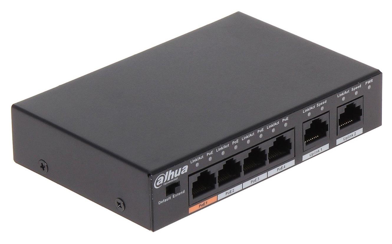 Коммутатор Dahua DH-PFS3006-4ET-60