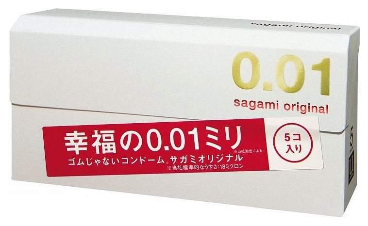 Презервативы Sagami Original супертонкие 5 шт.