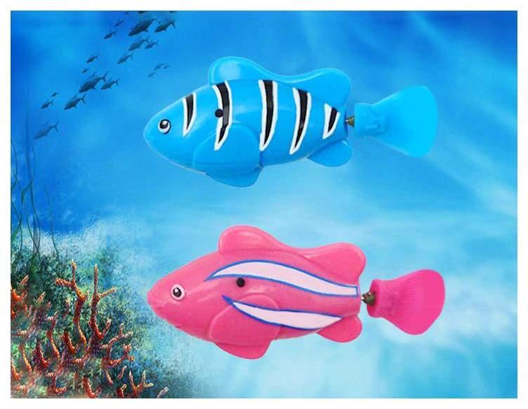Интерактивная игрушка для купания CRD Robo-Рыбка Плавающая 5 Видов Арт.8823A-1