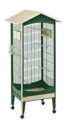 Клетка для птиц FERPLAST BRIO MINI зеленый 60 5x73 5x160см