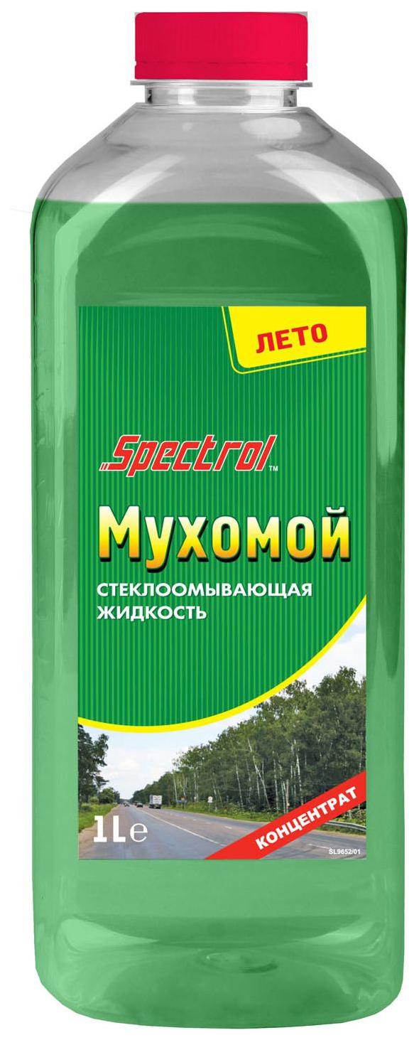 Жидкость стеклоомывателя летняя Spectrol 1л 9652