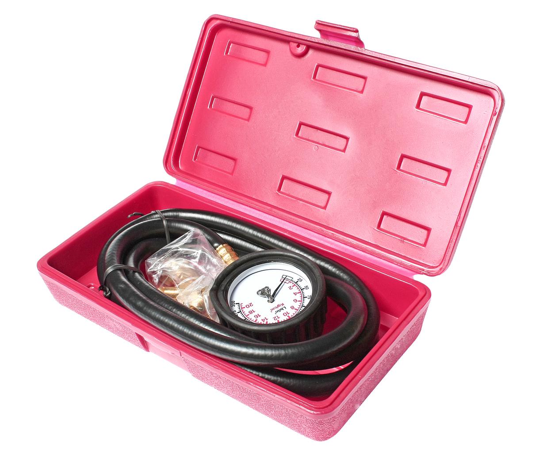 Тестер давления масла с набором адаптеров JTC JTC-1256 в кейсе