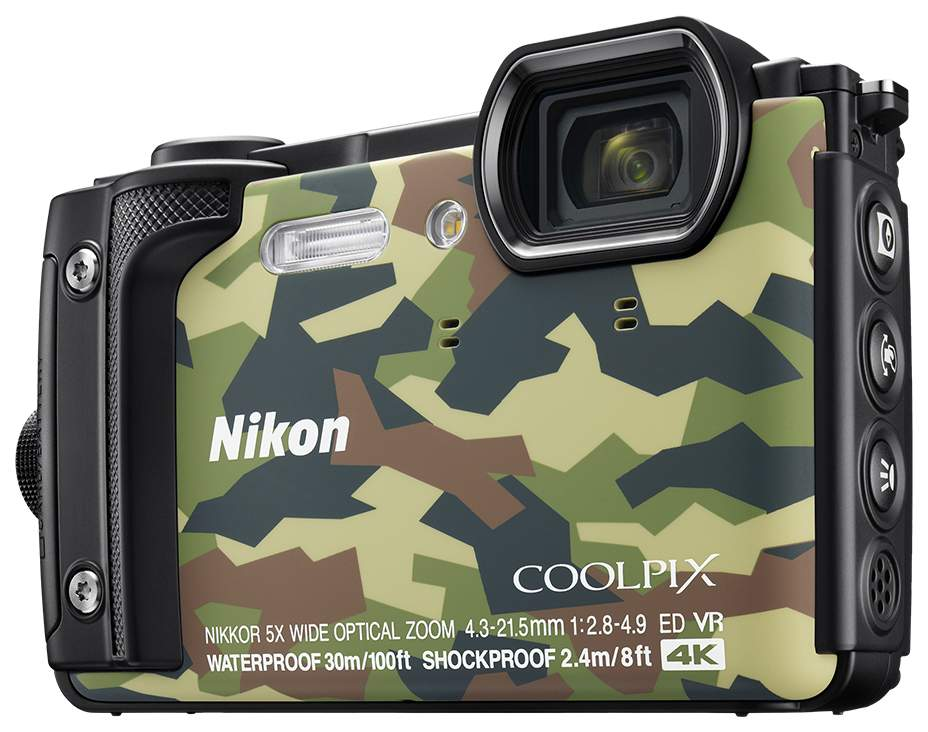 Фотоаппарат цифровой компактный Nikon COOLPIX W300 Green
