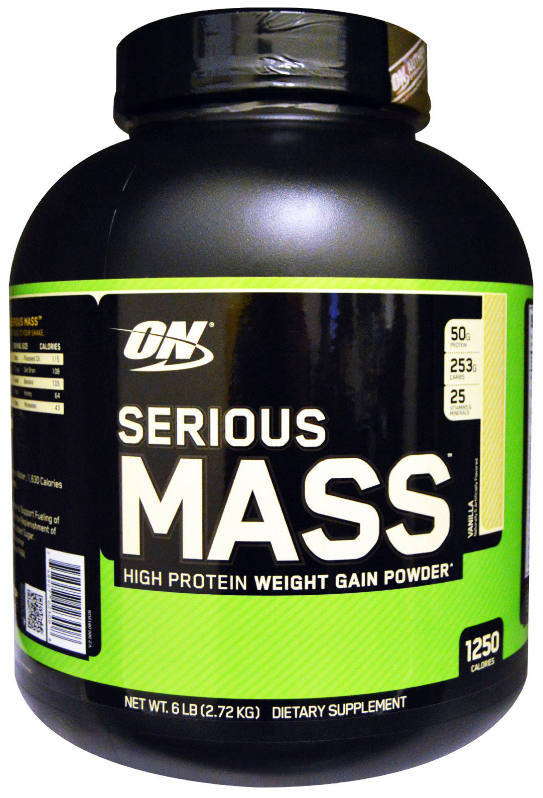 Гейнер Optimum Nutrition Serious Mass 2730 г Vanilla