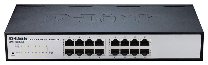 Коммутатор D-Link DES-1100-16/A2A