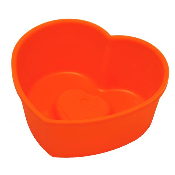 Форма для выпекания SoftBowl Heart 115 6шт