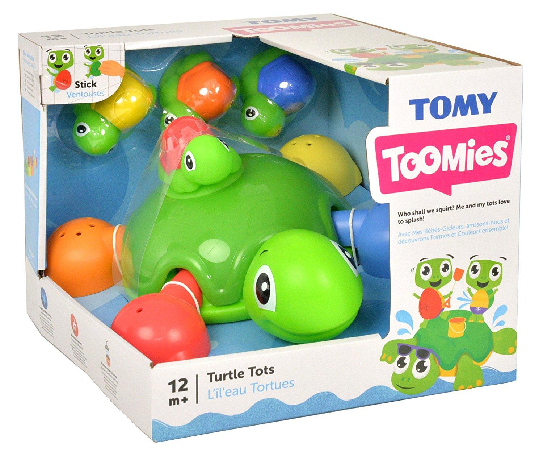 Игрушка для купания Tomy Веселые черепашки E72097RU