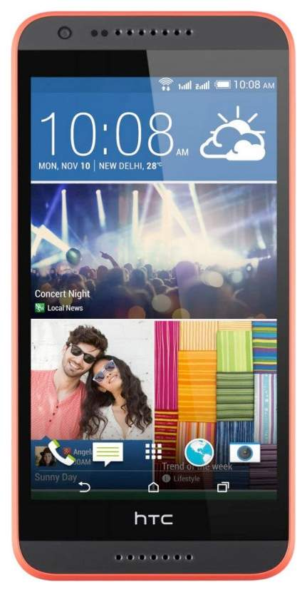 Смартфон HTC Desire 620G Dual Sim Matt Grey/Orange Trim