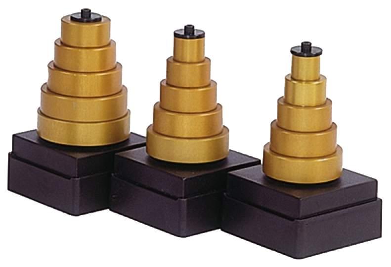 Комплект 5 колец для фрезы (материал алюминий) CMT 791.707.00