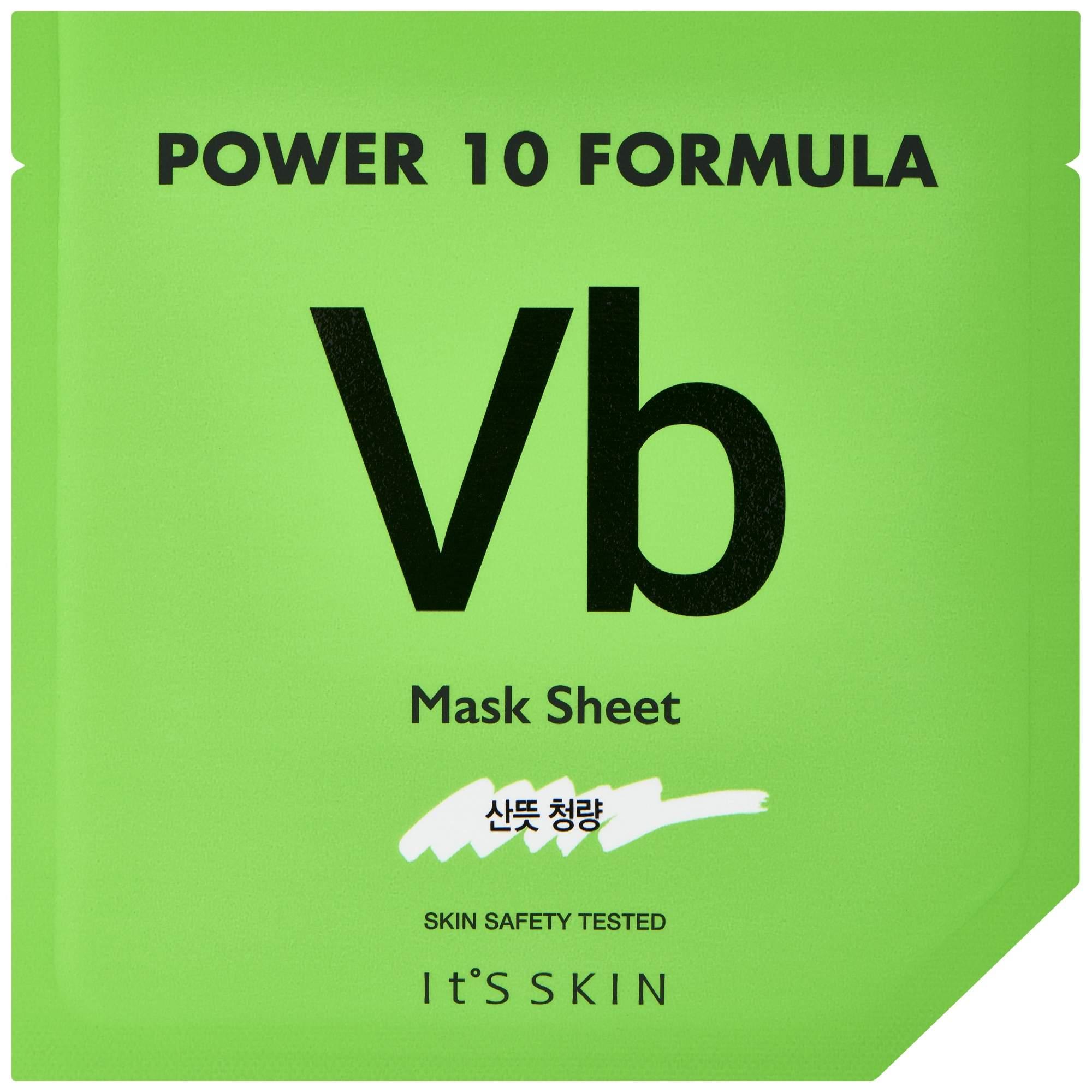Маска для лица It's Skin Power 10 Formula VB Для проблемной кожи 25 мл