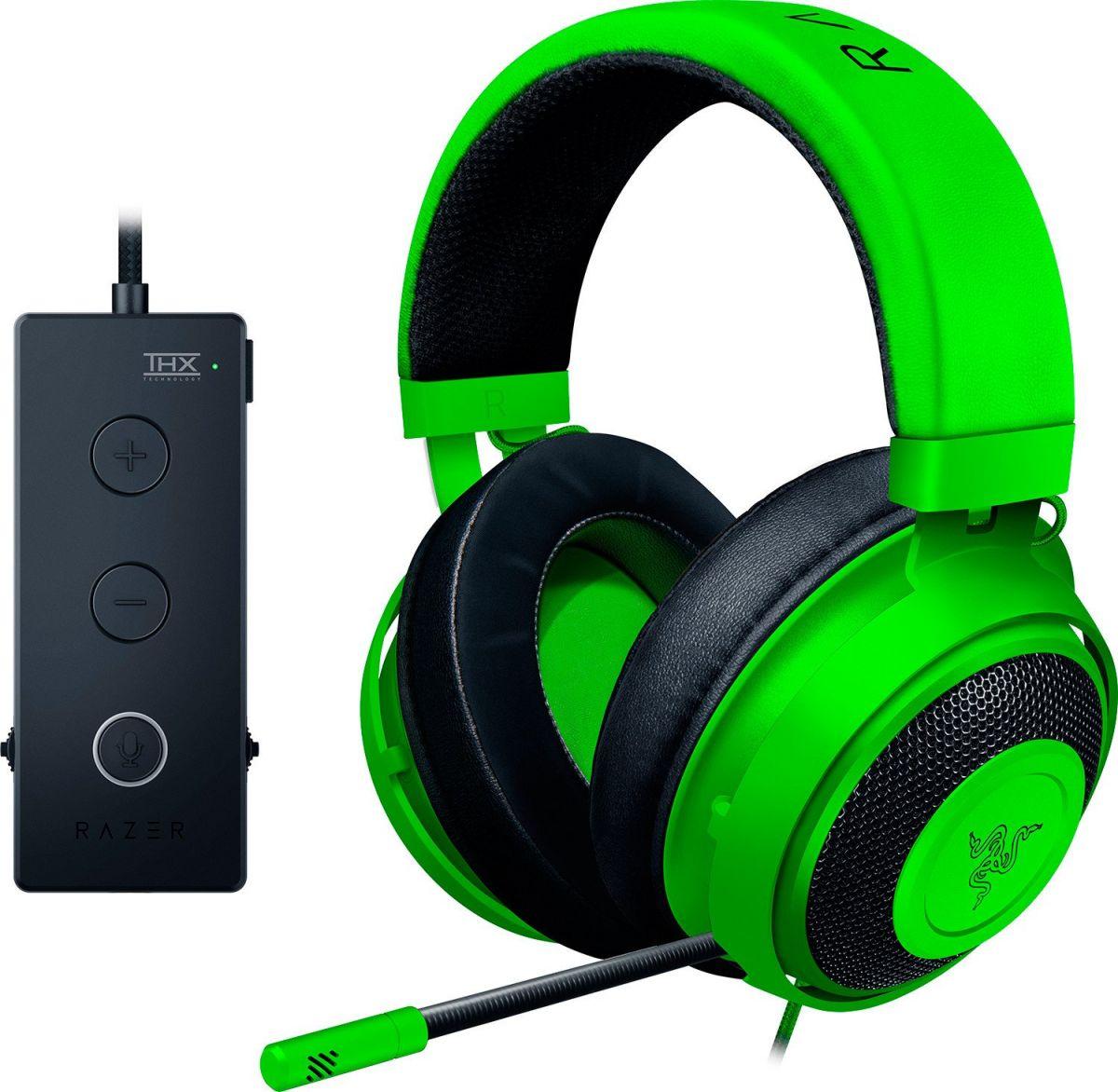 Игровые наушники Razer Kraken Tournament Edition Green (RZ04-02051100-R3M1)