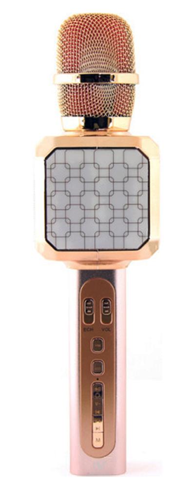 Беспроводной караоке-микрофон YS-69 Pink