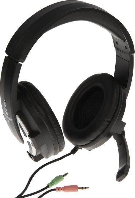 Игровые наушники Ritmix RH RH-515M Black