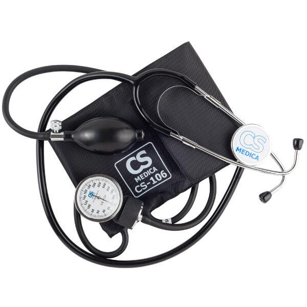 Тонометр CS MEDICA CS-106 механический на плечо с фонендоскопом