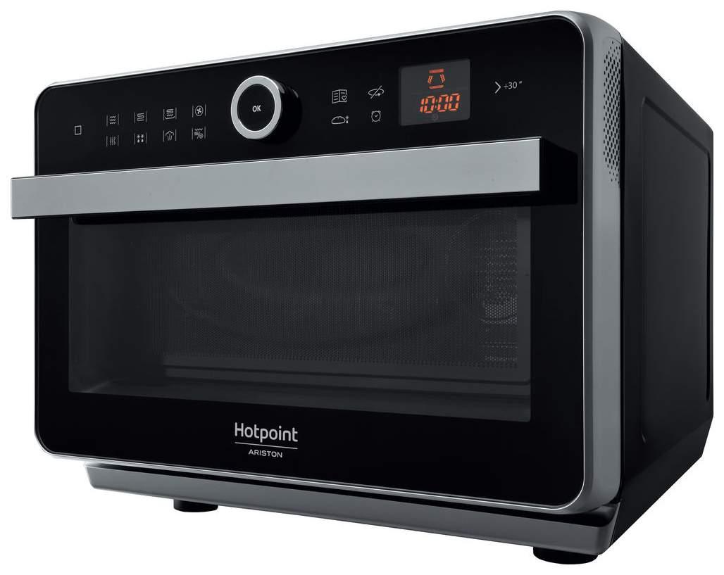 Микроволновая печь с грилем и конвекцией Hotpoint-Ariston MWHA 33343 B black