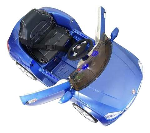 Электромобиль BMW синий глянец RIVERTOYS