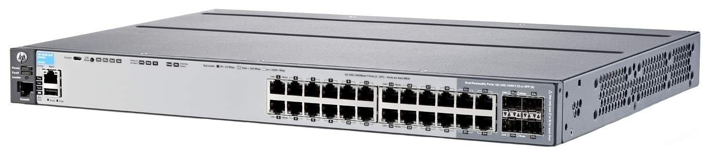 Коммутатор HP 2920-24G J9726A Серый