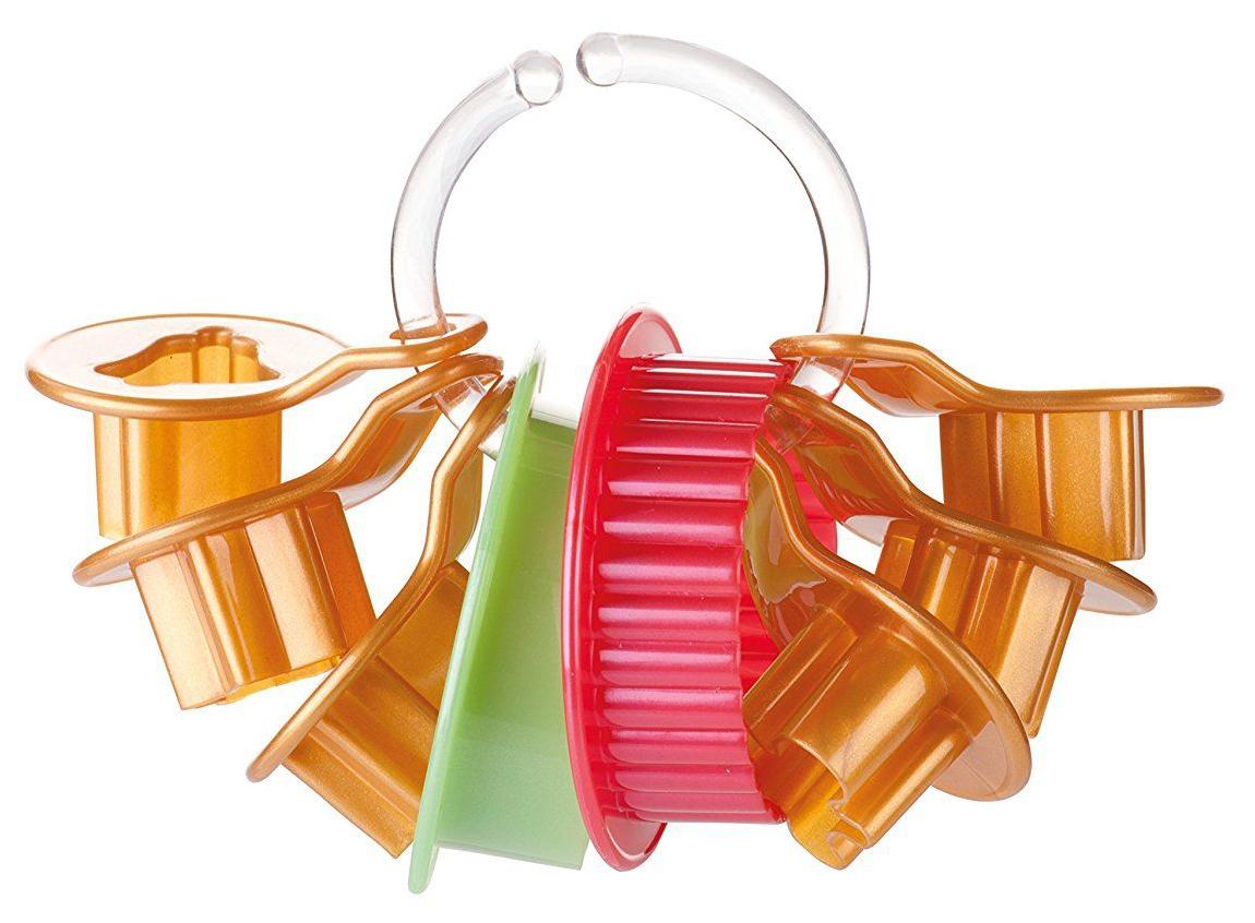 Набор для выпечки Tescoma Delicia 630912 Зеленый; Красный; Коричневый