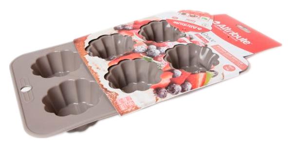 Форма для выпечки Attribute ABS309 Розовый
