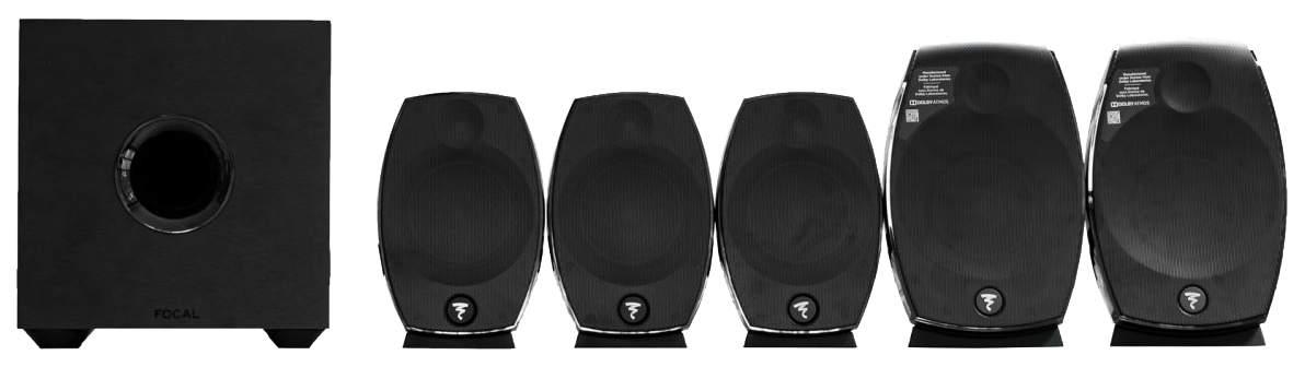 Комплект акустической системы Focal SIB EVO 51 Black