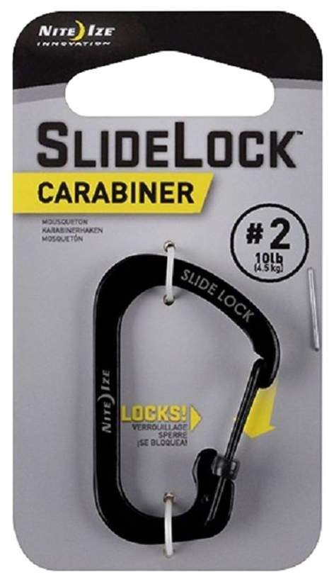 Карабин Nite Ize SlideLock Carabiner #2 CSL2-01-R6 Black