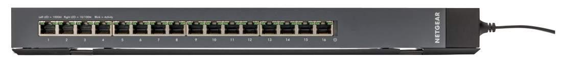 Коммутатор NetGear GSS116E-100EUS Черный