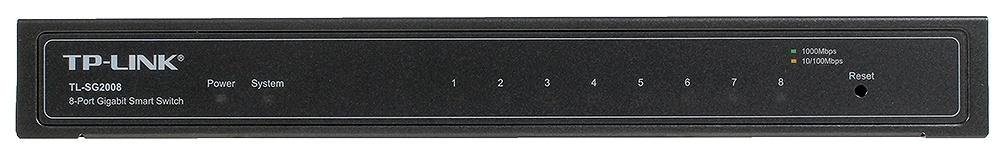 Коммутатор TP-LINK TL-SG2008 Черный