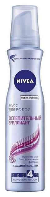 Мусс для волос NIVEA Ослепительный бриллиант 150 мл