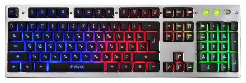 Игровая клавиатура OKLICK 770G Grey/Black