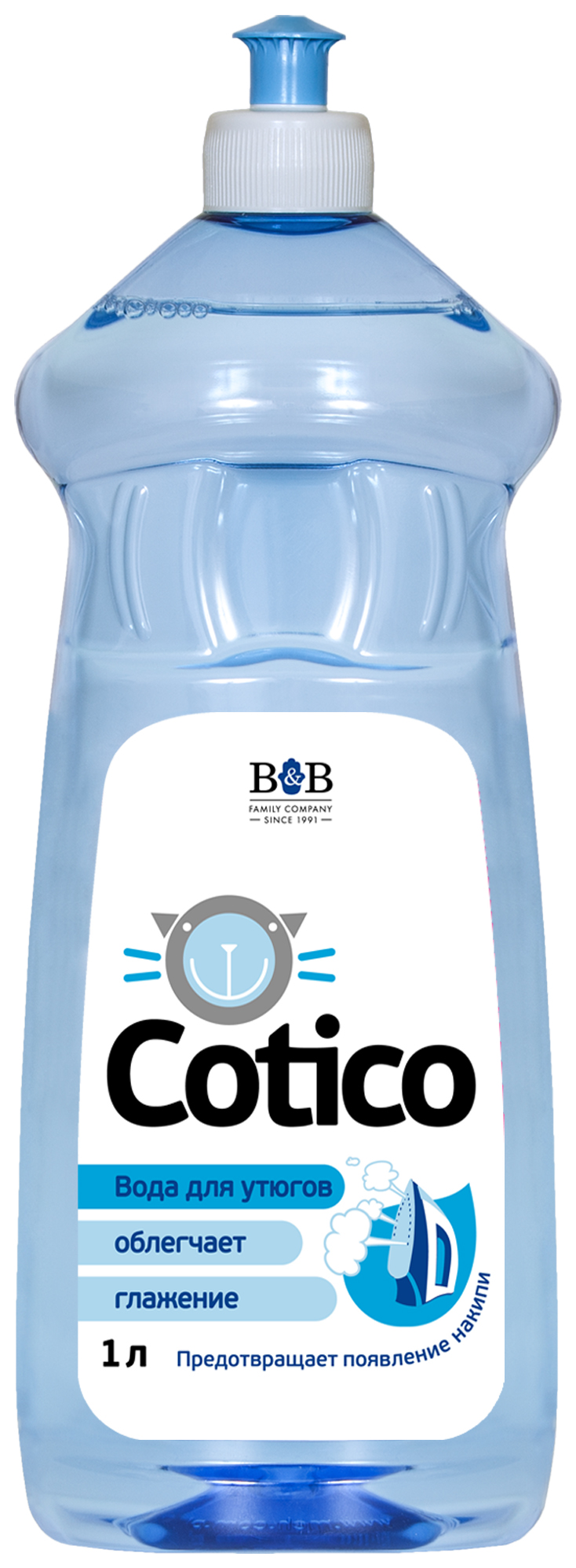Вода для утюгов COTICO Парфюмированная 1 л