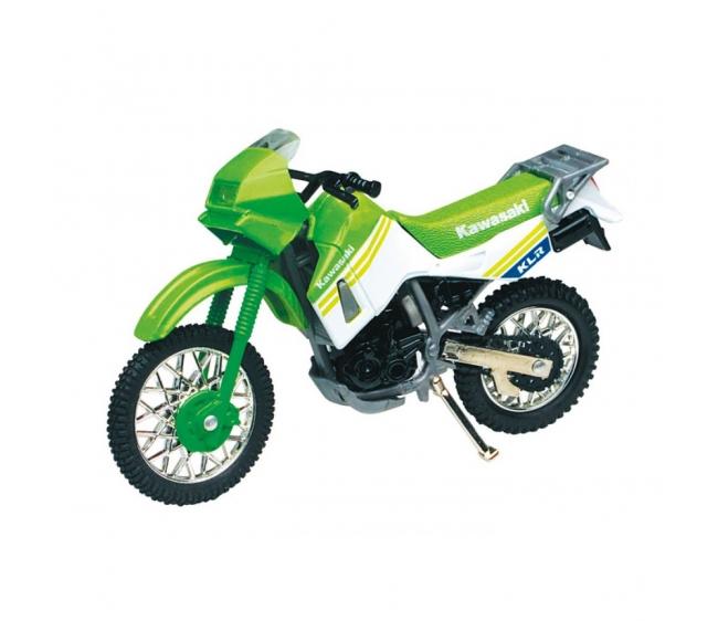 Мотоцикл Autotime kawasaki klr 650 1:18 10024