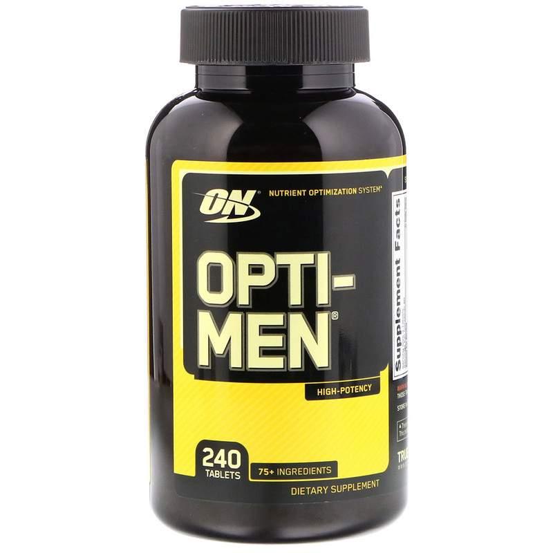 Добавка Optimum Nutrition Opti-Men 240 таблеток