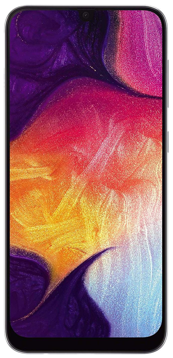 Смартфон Samsung Galaxy A50 (2019) 64Gb White