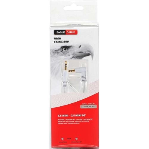 Аудио кабель Eagle Cable High Standard Mini(m)-Mini90(m) 08 м