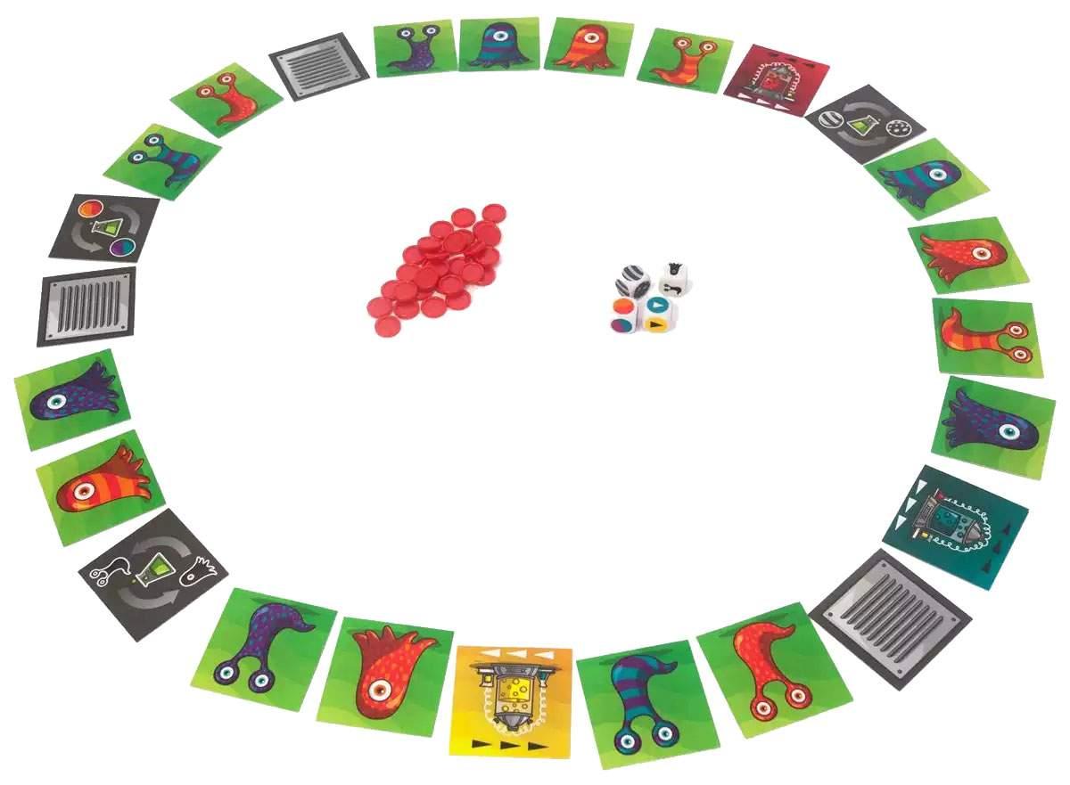 Настольная игра Gigamic Паника в Лаборатории (Panic Lab)