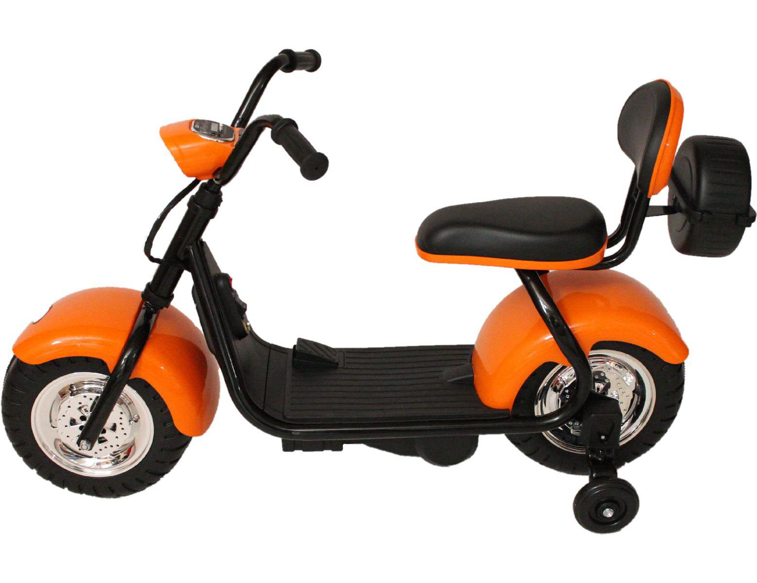 Детский электромотоцикл Barty CityCoco YM708, Оранжевый