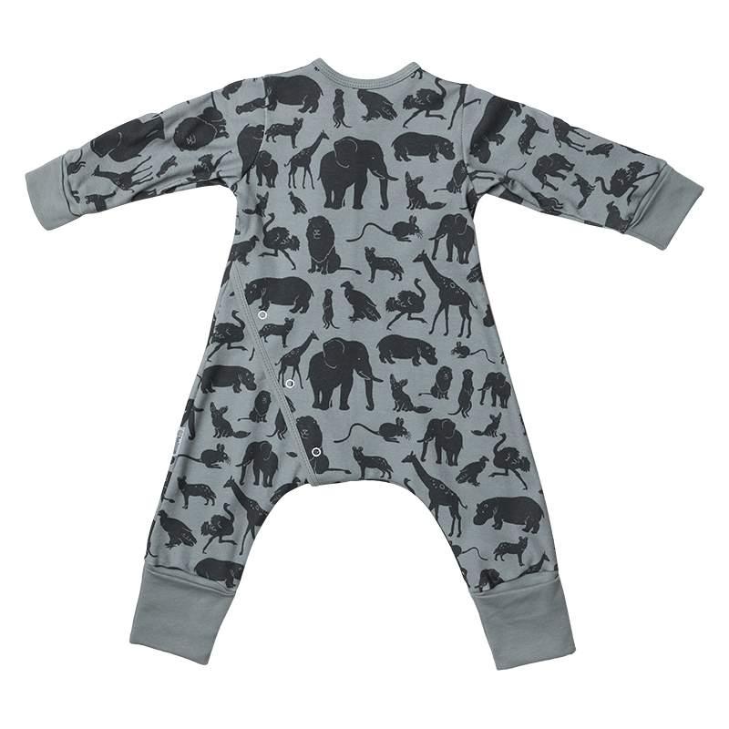 Пижама на кнопках Bambinizon Сафари р.98
