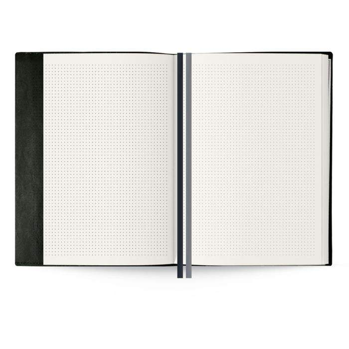 Миниатюра Записная книжка Феникс+ Синтетическая бумага черная 180 х 240 мм50332/15 №5