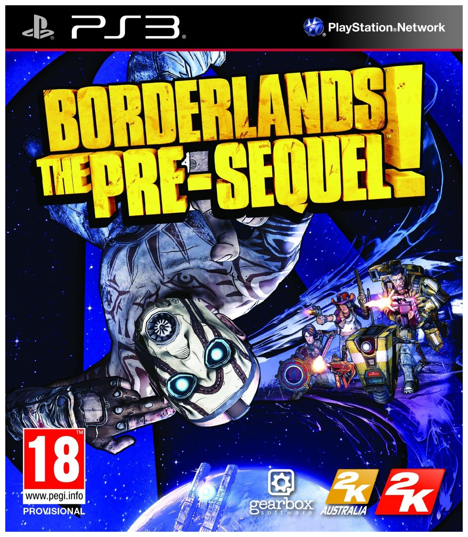 Игра BorderlandsThe Pre-Sequel для PlayStation 3