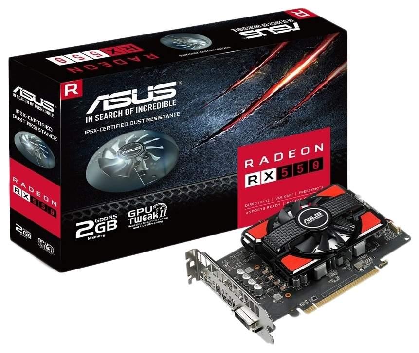 Видеокарта ASUS Radeon RX 550 (RX550-2G)