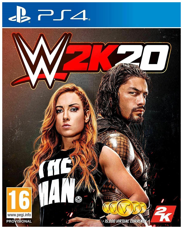 Игра WWE 2K20 для PlayStation 4
