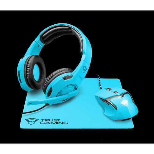 Комплект игровой Trust GXT790-SB SPECTRA Blue