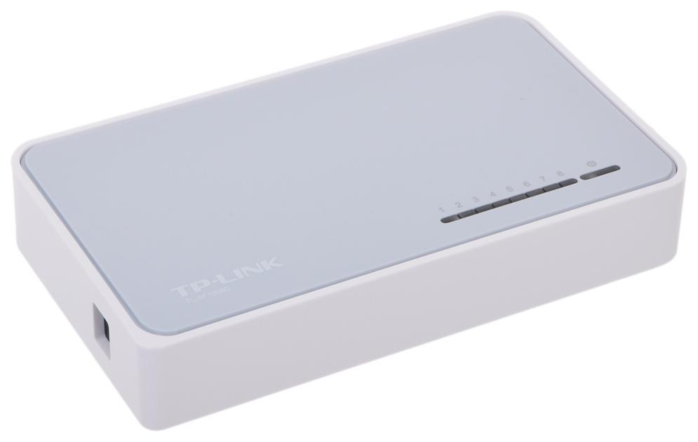 Коммутатор TP-LINK TL-SF1008D Белый