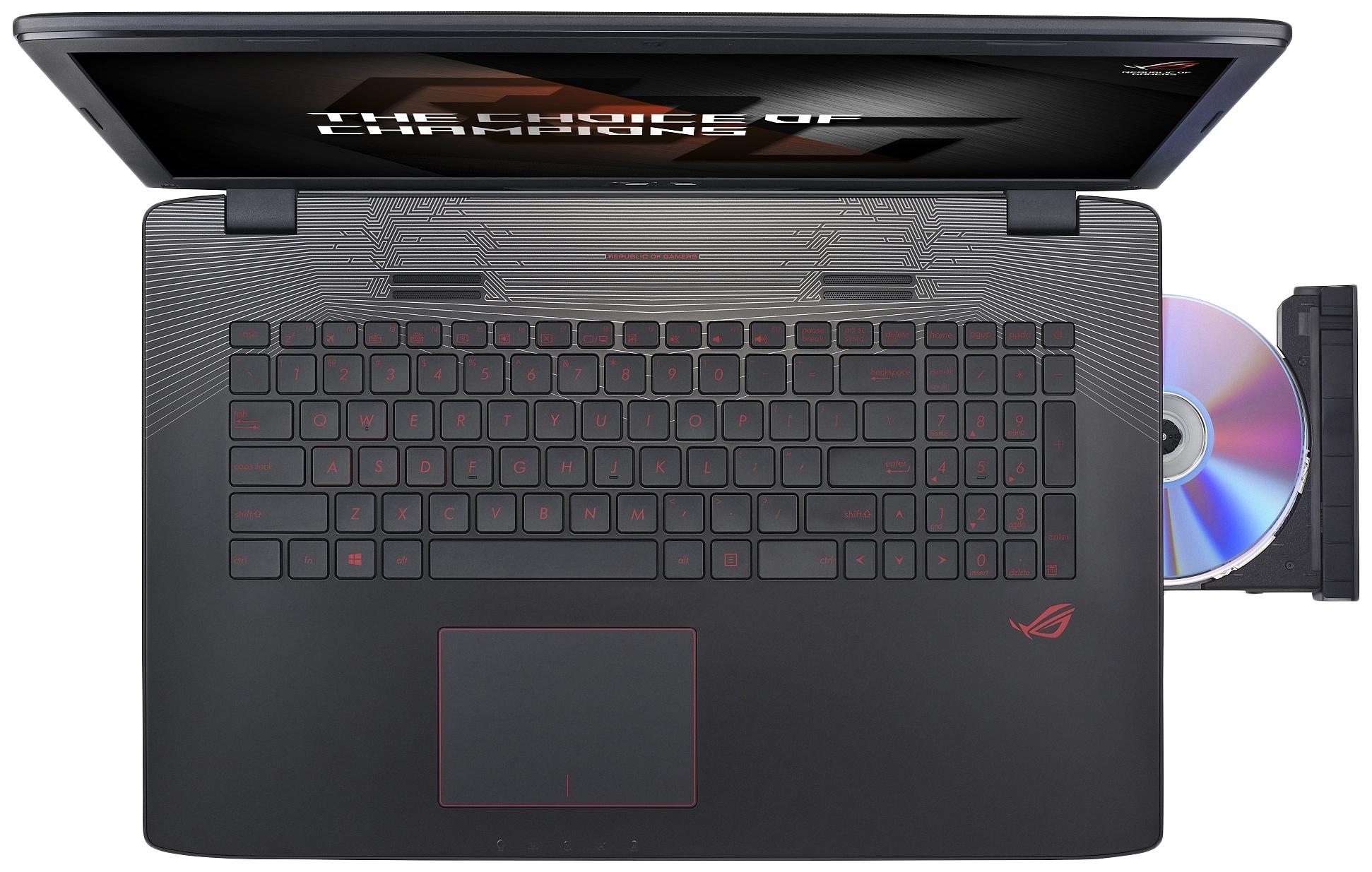 Ноутбук игровой Asus ROG GL752VW-T4535T