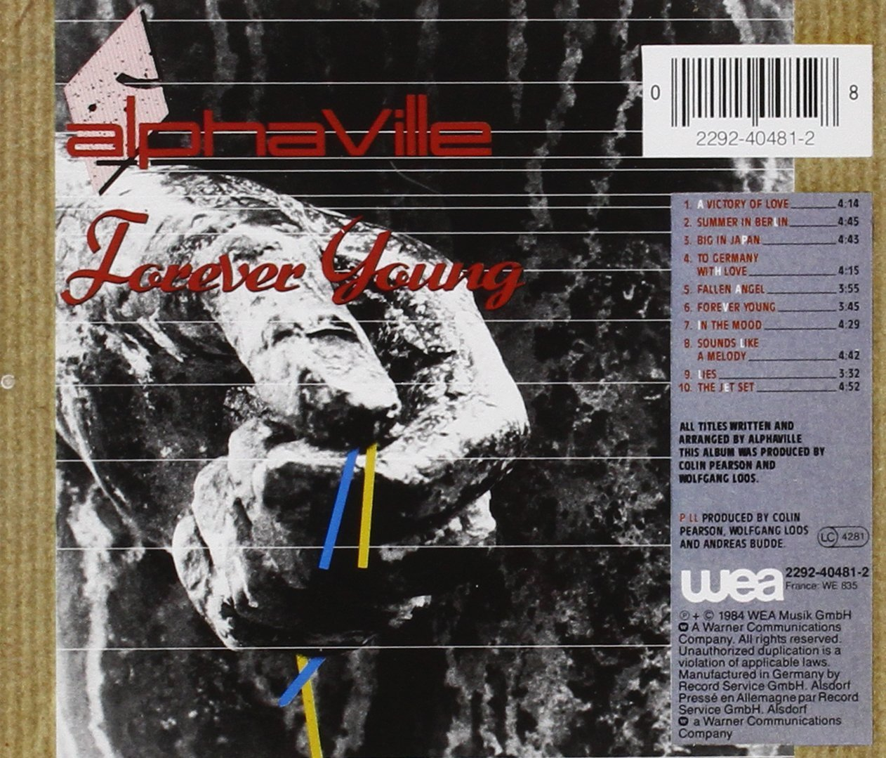 Fucks alphaville forever young music video hot actress copulation